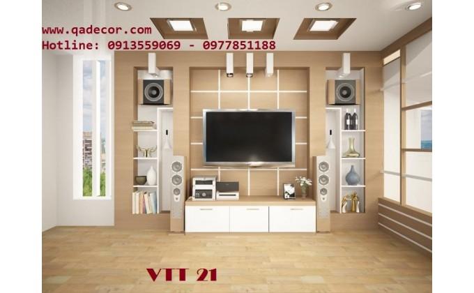 Vách trang trí phòng khách VTT21
