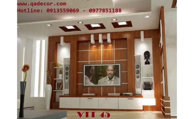 Vách trang trí phòng khách VTT45