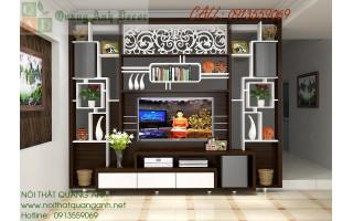 Thiết kế vách ngăn trang trí nội thất đẹp