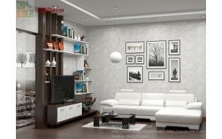 Vách ngăn phòng khách với phòng ngủ VN113