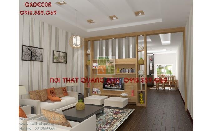 Vách trang trí phòng khách VTT903