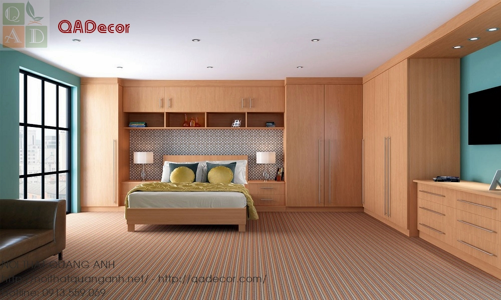 Giường tủ phòng ngủ đẹp